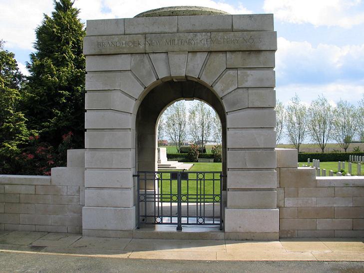 Brandhoek Military Cemetery, Belgium.