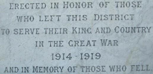 Branxton War Memorial