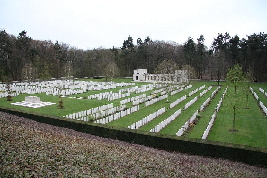 Buttes British Cemetery, Belgium