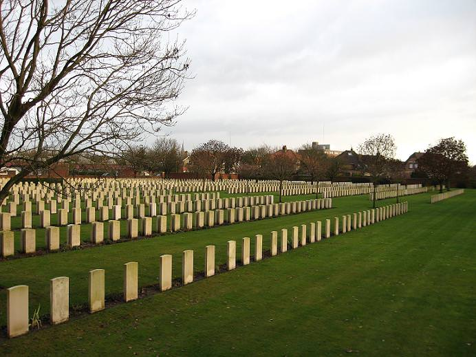 Cite Bonjean Military Cemetery, France