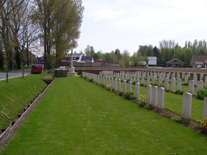 Motor Car Corner Cemetery, Belgium