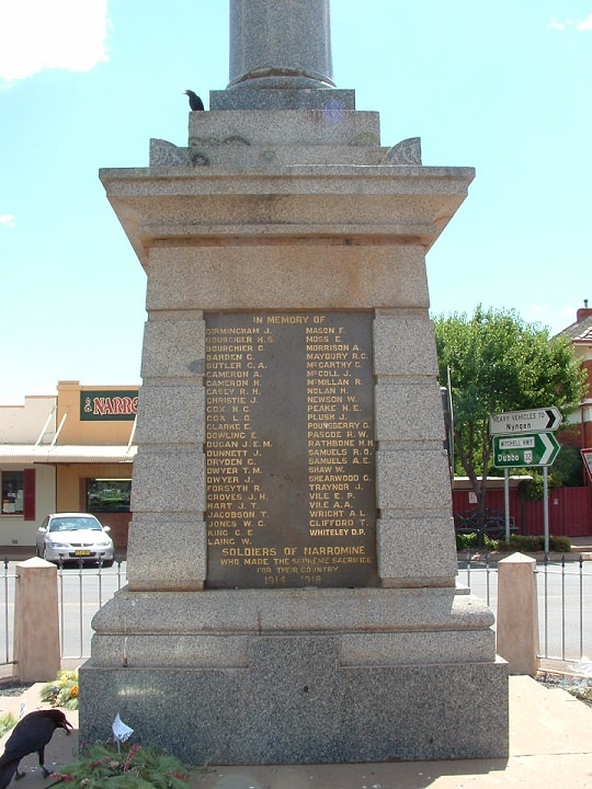 Narromine War Memorial