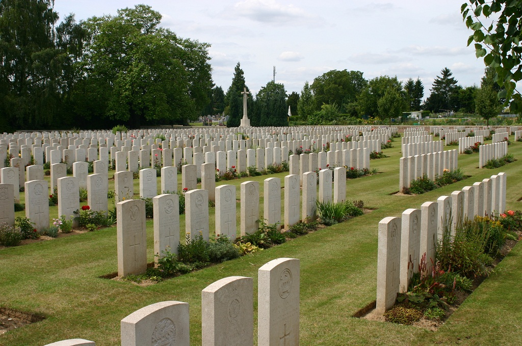 Peronne Communal Cemetery Extension, France