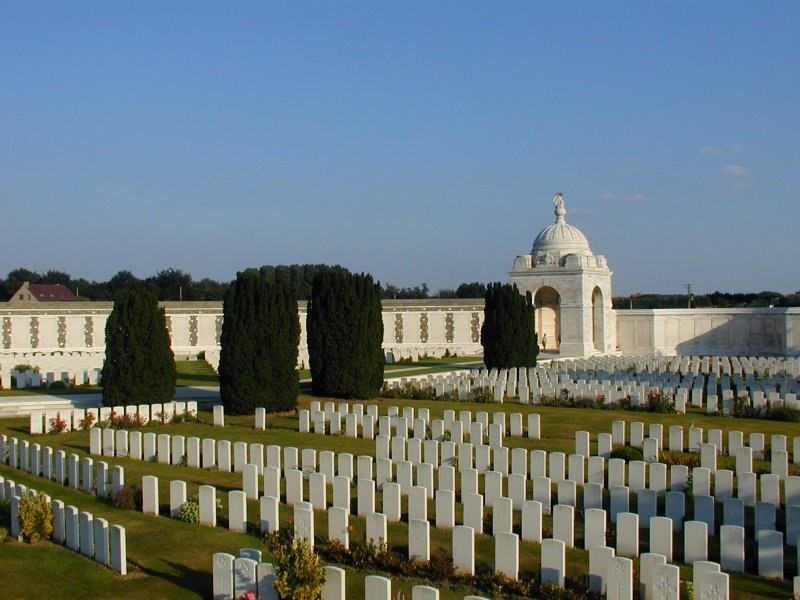 Tyne Cot Cemetery and War Memorial