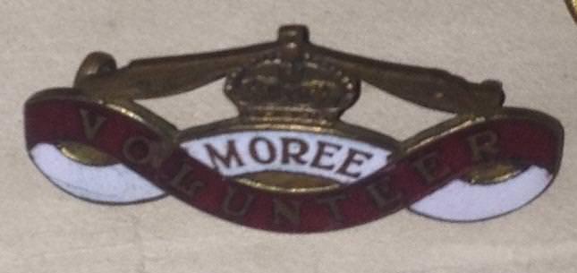Moree Volunteers Badge