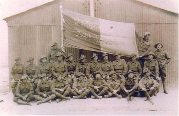 6th Reinforcements 34th Battalion