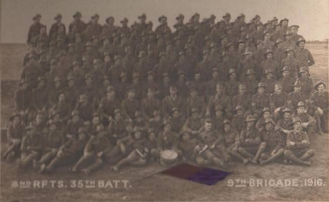 2nd Reinforcements 35th Battalion AIF