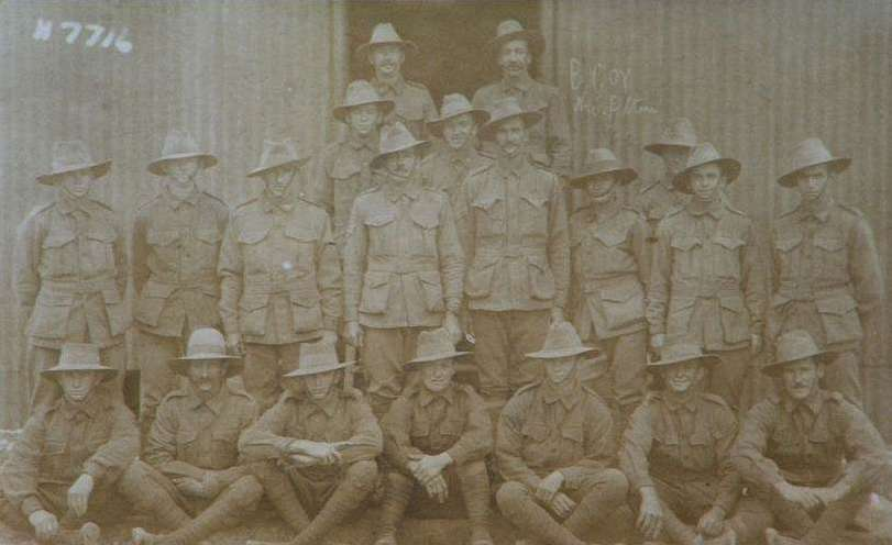 5 Platoon B Company, 35th Battalion AIF