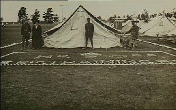 Rutherford Recruitment Camp 1916