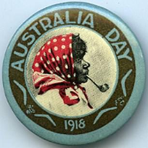 Australia Day Pin
