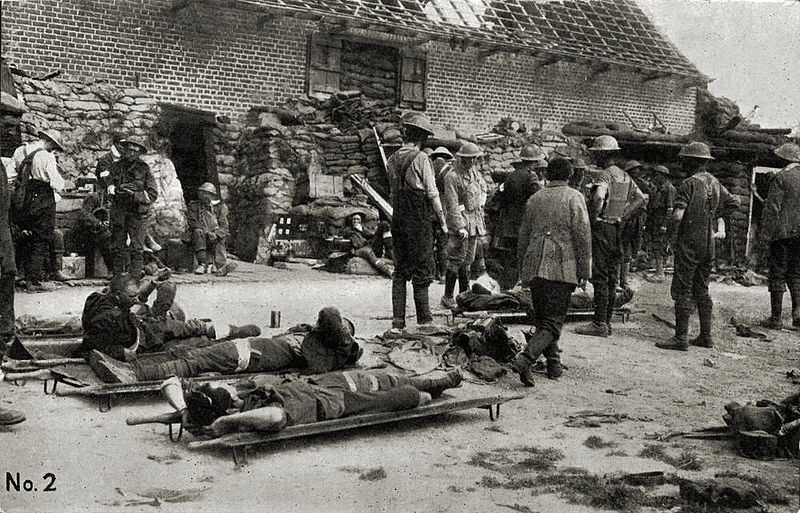 Field Dressing Station, Messines 07/06/1917