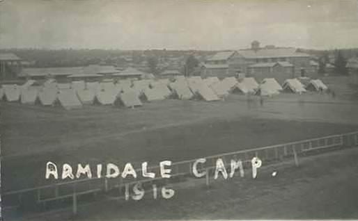 Armidale Camp 1916