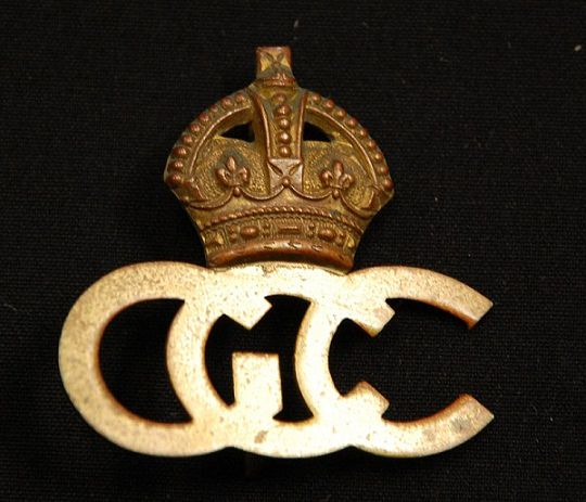German Conscentration Camp Hat Badge