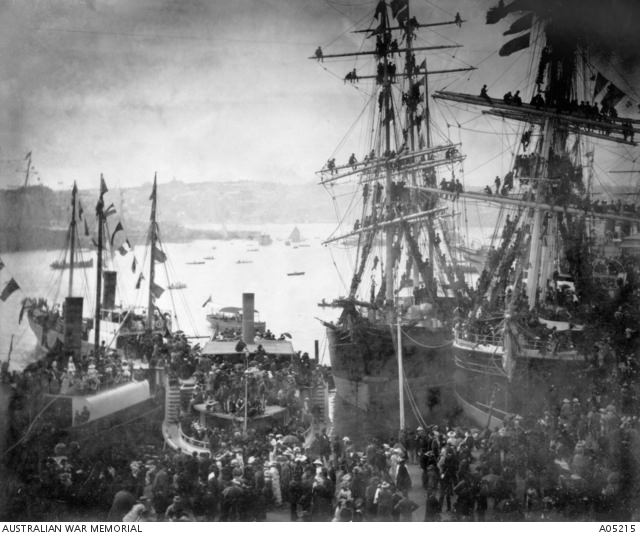 Sydney Harbour 3rd March 1885